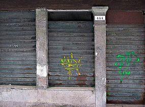 Moderne Foto-Kunst - Laden-Sterben in Venedig