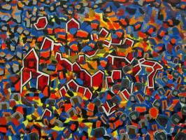 Kunst Konstanz: Abstrakte Stadtlandschaft