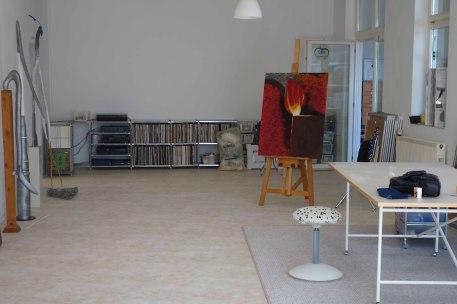 Künstler Bodensee: Atelier Pfundtner Innenraum mit Licht und Platz