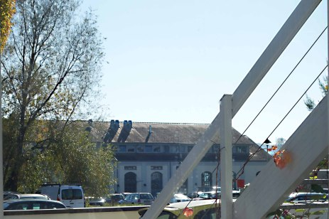 Künstler Bodensee: Das neue Atelier Pfundtner liegt im Konstanzer Stromeyersdorf ganz nahe bei der Bleiche.
