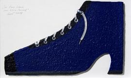 Schuh-Objekt, von Ezra Pound inspiriert.