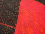 """Größerer Bild-Ausschnitt """"Roter Pollenflug"""""""